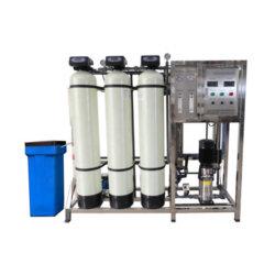 sistema industriale della macchina dello stabilimento di trasformazione del filtro dal depuratore di acqua potabile del pozzo trivellato del sistema di osmosi d'inversione 500lph RO