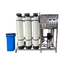 500lph産業逆浸透システムRO試錐孔の飲料水の清浄器フィルター処理場機械システム