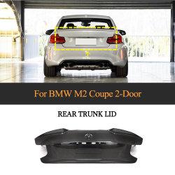 La tapa del maletero trasero de fibra de carbono para BMW 2 Series F87 M2 M2C sedán 2 Puertas 2016-2020