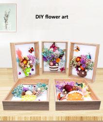 Unsterbliche Blume Ton handgemachte Rahmen Malerei, DIY Blume Hand für Material Paket