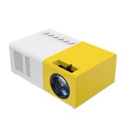 Home TheaterのパソコンLaptop VideoのためのJ9 Mini Portable Projector Support HDMI AV USB HD 1080P Video Media Player LED Mini Projector
