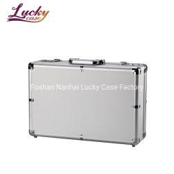 Aktentas 14in Laptop Geval met Geval van het Aluminium van de Oppervlakte van het Slot het Harde Draagbare