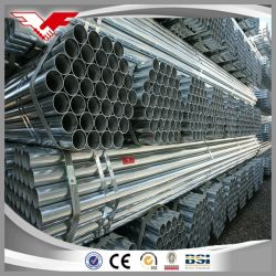 preço de fábrica Youfa aço carbono galvanizado Tubo de Aço/Gi/Tubo de Aço Galvanizado Tubo para tubo de água