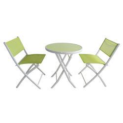 Sedie e Tavoli a rete pieghevole per esterni Garden Metal Outdoor Tavoli per mobili Set