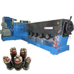 PE PVC libre de halógenos y baja emisión de humos 45 Color Supersition doble óptica Cable de la capa de aislamiento de la línea de extrusión de envoltura