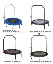 Ronda trampolín de saltos Bungee trampolín de Indoor/Outdoor