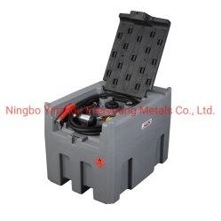 可動式給油プラスチックディーゼルタンク 400L ( 12 V )フューエルタンク 農業用ファーム用の 40 L/ 分自己プライミング電動ベーンポンプ