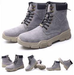 Desconto Calçado Casual Botas homens calçado de exterior