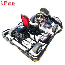 La benzina del gioco di divertimento di sport esterno va Kart velocemente fuori dalla strada che la benzina elettrica va Kart 200cc mini va Kart che corre per i capretti