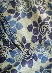 Sublimation-Drucken-tropisches Muster-Kleid-Polyester-Chiffon- Gewebe für Kimono