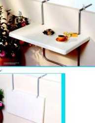 Balcon Wall-Hanging Table (KTBT0090)