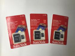 2020 Esaker preço grossista de fábrica 8GB, 16GB, 32GB, 64GB, 128GB do cartão de memória Micro SD TF com capacidade total de alta velocidade para o Logotipo de Design Personalizado