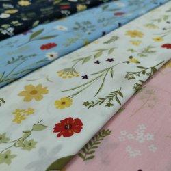 ホーム織物のための方法100綿によって編まれるポプリンによって印刷されるファブリック