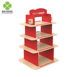 Mensola di visualizzazione di legno al minuto del giocattolo dei bambini dei prodotti del bambino di posizione
