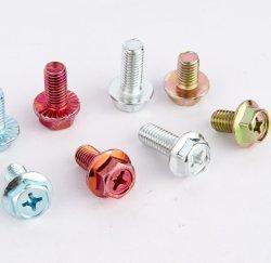 Zeskantbouten met kruiskopbouten/schroeven met op maat gemaakte, niet-standaard zeskantbouten/schroeven met getande/koolstofstalen bouten