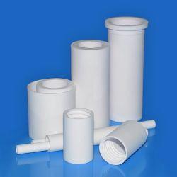 전기 불응성 고온 저항성 알루미늄 산화물 유동체 사용자 지정 큰 직경 95 99 99.5 C799 Al2O3 절연체 알루미늄 세라믹 튜브