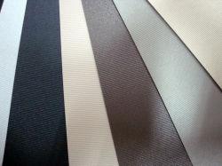 Negro tejido Persiana