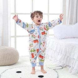 Para as crianças de Manga Longa de algodão Cotton-Cotton bebé aqueça o gargalo redondo pijamas para meninos e meninas para desgaste inicial
