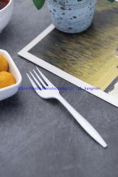 ピクニック使い捨て可能なフォークPPの食事用器具類のための飛行中のプラスチックフォークPPのプラスチックフォーク