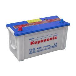 Selbstbatterie der Starter-Batterie-100ah für Verkauf N100 12V 100ah trocknen belastete Selbstautobatterie