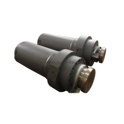 出版物機械のための単動油圧プランジャシリンダー