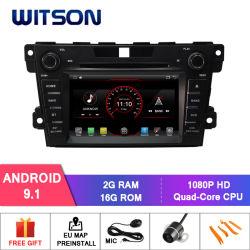 Processeurs quatre coeurs Witson Android 9.1 DVD de voiture GPS pour Mazda CX-7 capacitif écran HD de 1024x600
