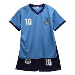 Les enfants de l'été Sportswear Costumes Garçons Tee Shirt Soccer Basket-ball filles Tops Vest Kit de football de l'âge 2-12 ans pantalons courts