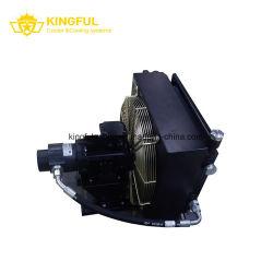 모터를 가진 공기에 의하여 냉각되는 유형 열교환기 방열기 유압 기름 냉각기