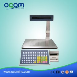 TM-AA-5D de impresión de etiquetas de códigos de barras electrónico POS Báscula