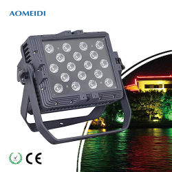 24*10W LED RGBW Cidade Parede Cor Fase Lava Luz para outdoor decoração do prédio