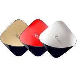 Rk3318 Doos van TV van WiFi van de Band van de Doos 4/64GB HD 4K 2.4/5g van TV van de Kern van de Vierling de Androïde 9.0 Slimme Dubbele X88 PRO