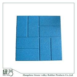 Piscina colorida para pavimentação de borracha reciclada de tijolos com preço competitivo