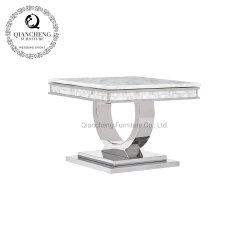 En bout de table en marbre moderne pour la maison en utilisant le point de vente à chaud