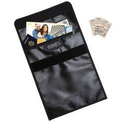 耐火性のドキュメントバッグ、ロックジッパーと Silica Gel Pack 付き 耐火性無かゆみ封筒