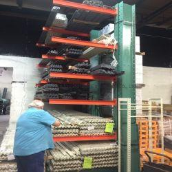 Heavy Duty rayonnages cantilever d'entrepôt de stockage en aluminium