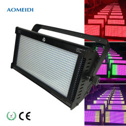 Промойте Flash 2в1 RGB LED 1000W окраски Стробоскоп для концерта событие