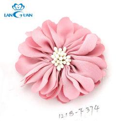 La moda DIY Tejido de tela hechos a mano flor
