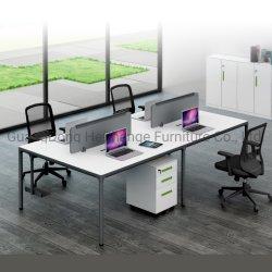 Büro-Arbeitsplatz-Computer-Schreibtisch mit den Stahlbeinen (HC-88) öffnen