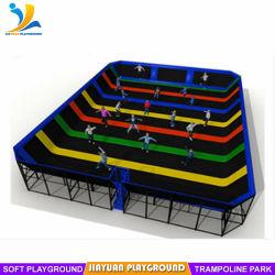 В качестве размера предназначены для использования внутри помещений батут кровать для парка