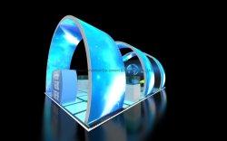 3x3 ポータブルテンションファブリックトレードショー展示モジュールブース デザイン