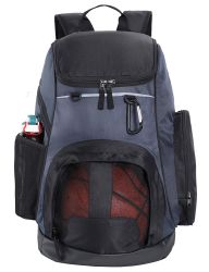 Настраиваемые двойные плечо учащихся спортивных мероприятий на улице фитнес-баскетбол Pack рюкзак подушки безопасности (CY8819)