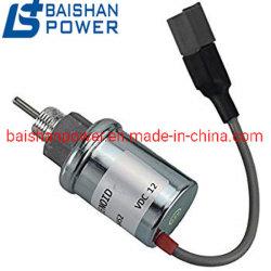 Двигатель Yanmar электромагнитный клапан отключения электромагнит остановки 119653-77950 1503es-12s5suc5s 1752es-12e7UC3b1s1 1751es-24e6ulb1s1 U85206452 для двигателей Perkins 402 D 403D, 404D, 404c, 403c