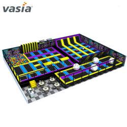 Vasiaスペース主題の商業普及した冒険の専門の屋内トランポリン