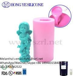 Caoutchouc de silicone liquide pour la fabrication de moules de bougie