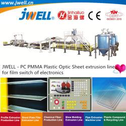 PMMA Jwell - PC|Plastique feuille optique recyclage Making Machine agricole pour le film de l'électronique de l'interrupteur avec prix d'usine extrudeuse monovis