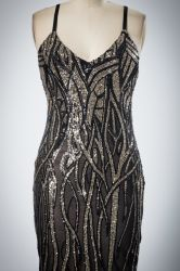 包帯の方法様式の吊り鎖ポリエステルファブリックイブニング・ドレス