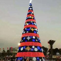 3DモチーフLED装飾的な生気に満ちた20FT 30FT 40FTの50FT巨大な屋外の照明クリスマスツリーの工場