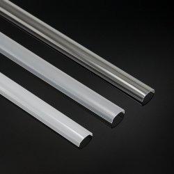 La sombra de la luz de perfiles de aluminio con la difusión de la luz