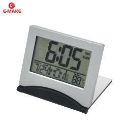 탁상용 테이블 디지털 온도계 LCD 자명종 달력