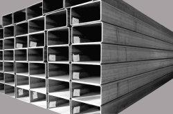 Tube de haute qualité Profils Creux en acier carbone tube carré de fer